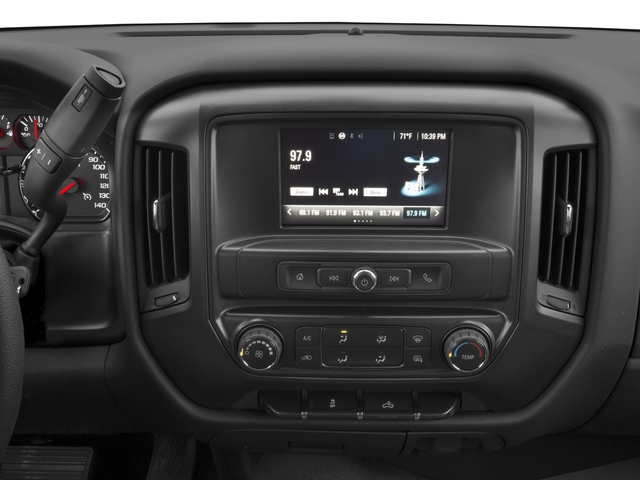 2016 Chevrolet Silverado 1500 Prices and Values Extended Cab Work Truck 4WD stereo system