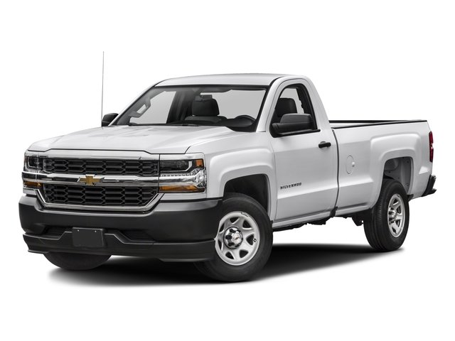 2016 Chevrolet Silverado 1500 Prices and Values Regular Cab Work Truck 2WD side front view