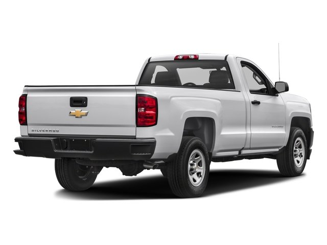2016 Chevrolet Silverado 1500 Prices and Values Regular Cab Work Truck 2WD side rear view