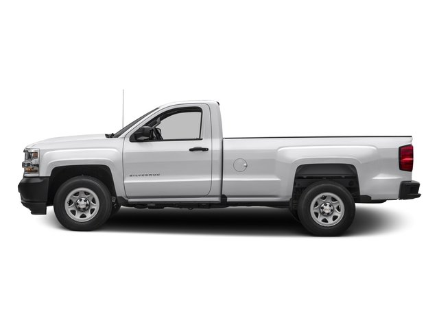 2016 Chevrolet Silverado 1500 Prices and Values Regular Cab Work Truck 2WD side view