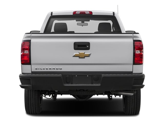 2016 Chevrolet Silverado 1500 Prices and Values Regular Cab Work Truck 2WD rear view
