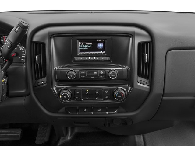 2016 Chevrolet Silverado 1500 Prices and Values Regular Cab Work Truck 2WD stereo system