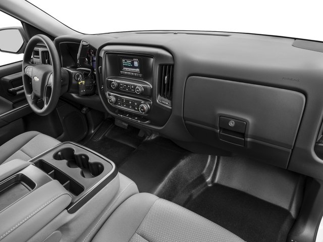 2016 Chevrolet Silverado 1500 Prices and Values Regular Cab Work Truck 2WD passenger's dashboard