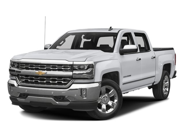2016 Chevrolet Silverado 1500 Prices and Values Crew Cab LTZ 4WD side front view