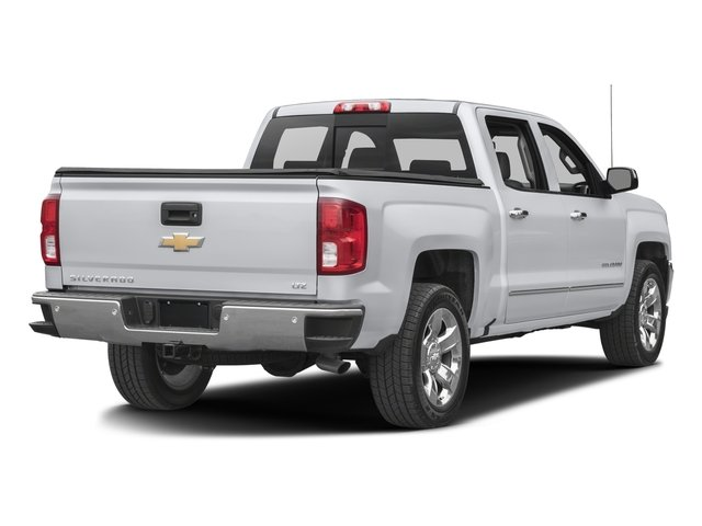 2016 Chevrolet Silverado 1500 Prices and Values Crew Cab LTZ 4WD side rear view