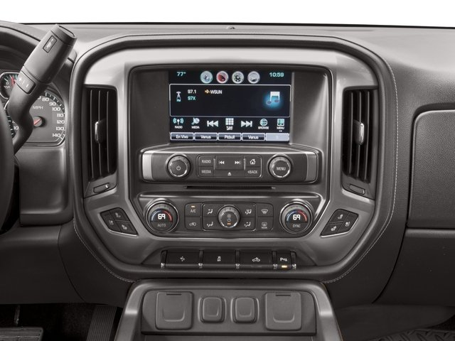 2016 Chevrolet Silverado 1500 Prices and Values Crew Cab LTZ 4WD stereo system