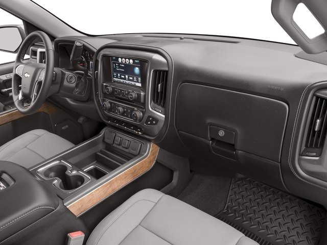 2016 Chevrolet Silverado 1500 Prices and Values Crew Cab LTZ 4WD passenger's dashboard