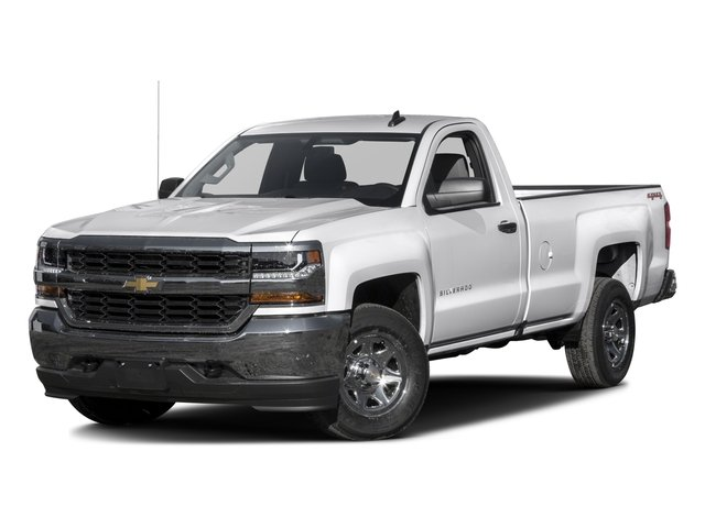 2016 Chevrolet Silverado 1500 Prices and Values Regular Cab LS 4WD side front view
