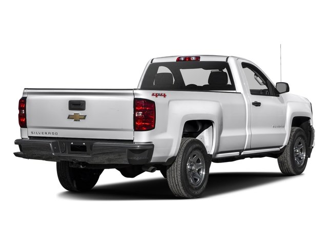 2016 Chevrolet Silverado 1500 Prices and Values Regular Cab LS 4WD side rear view