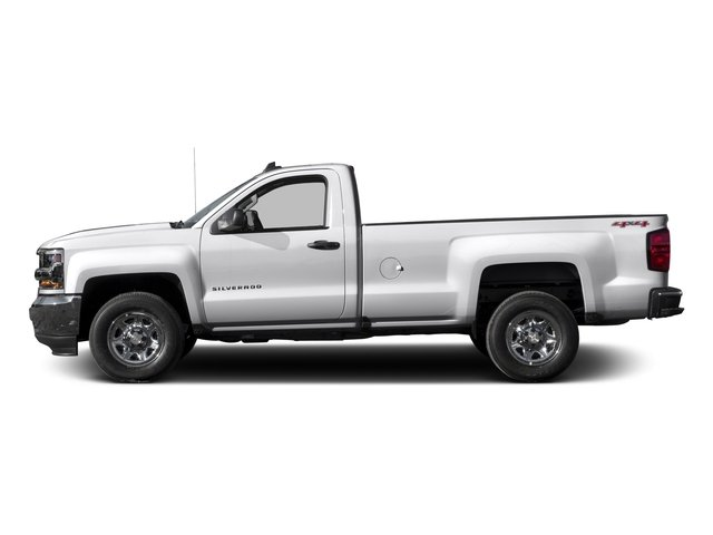 2016 Chevrolet Silverado 1500 Prices and Values Regular Cab LS 4WD side view