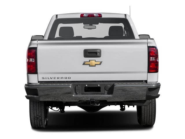 2016 Chevrolet Silverado 1500 Prices and Values Regular Cab LS 4WD rear view