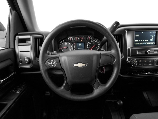 2016 Chevrolet Silverado 1500 Prices and Values Regular Cab LS 4WD driver's dashboard