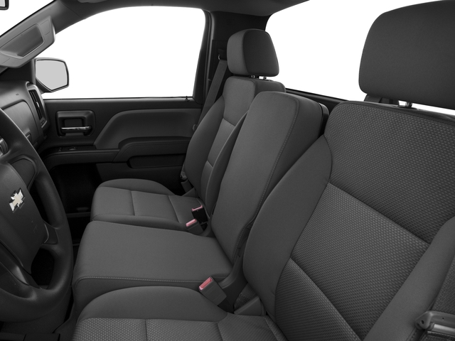 2016 Chevrolet Silverado 1500 Prices and Values Regular Cab LS 4WD front seat interior