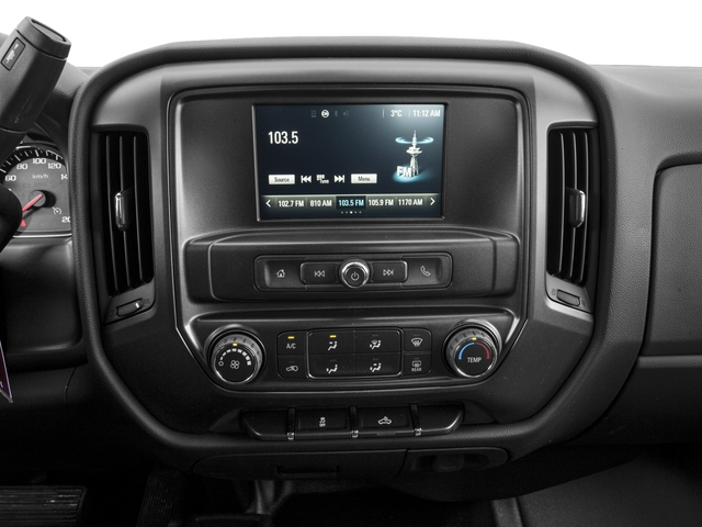 2016 Chevrolet Silverado 1500 Prices and Values Regular Cab LS 4WD stereo system