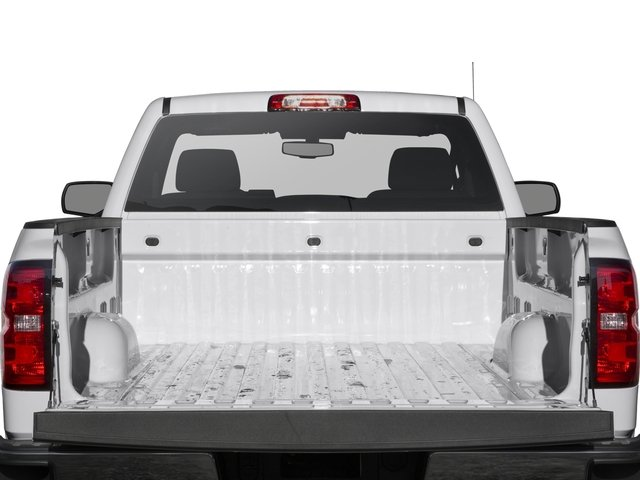 2016 Chevrolet Silverado 1500 Prices and Values Regular Cab LS 4WD open trunk
