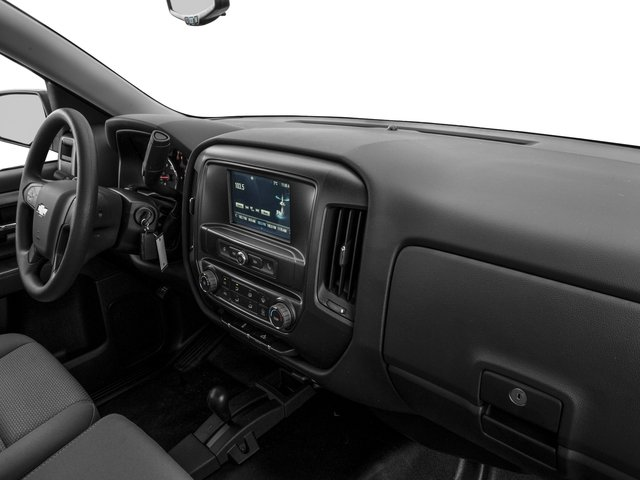 2016 Chevrolet Silverado 1500 Prices and Values Regular Cab LS 4WD passenger's dashboard