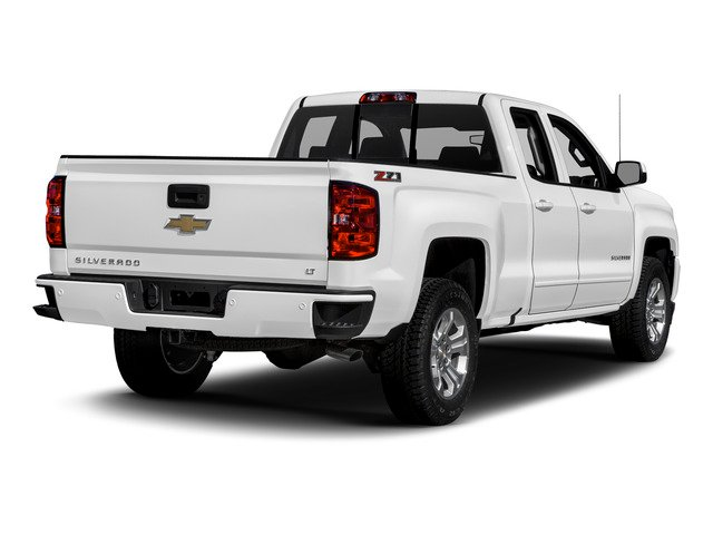 2016 Chevrolet Silverado 1500 Prices and Values Extended Cab LT 4WD side rear view