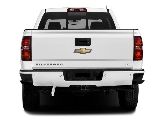 2016 Chevrolet Silverado 1500 Prices and Values Extended Cab LT 4WD rear view