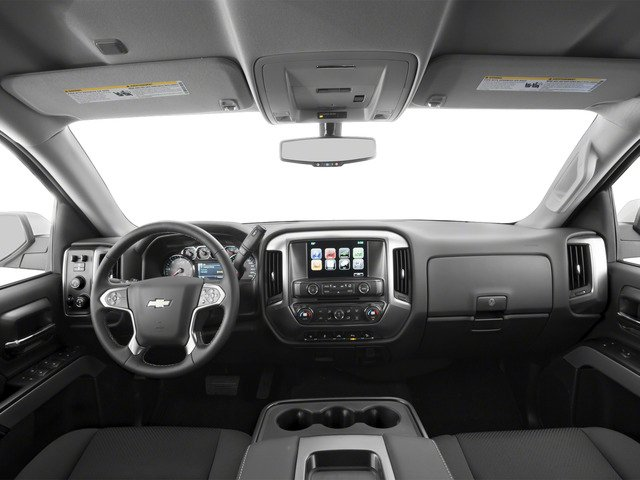 2016 Chevrolet Silverado 1500 Prices and Values Extended Cab LT 4WD full dashboard