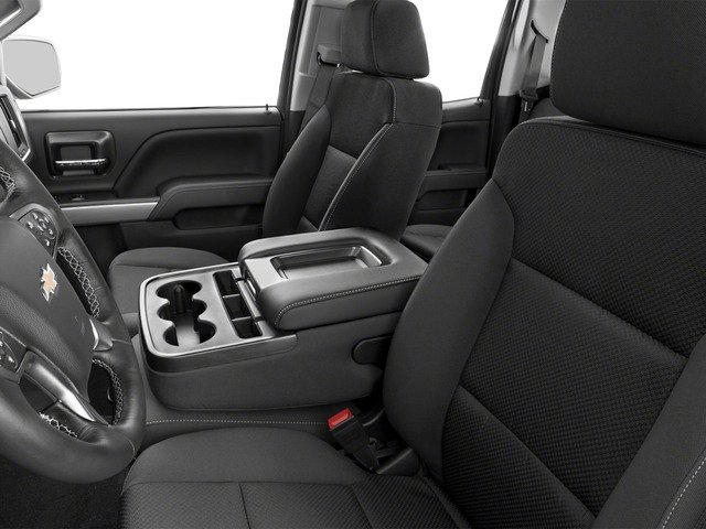 2016 Chevrolet Silverado 1500 Prices and Values Extended Cab LT 4WD front seat interior