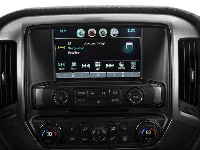 2016 Chevrolet Silverado 1500 Prices and Values Extended Cab LT 4WD stereo system