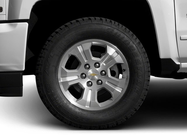 2016 Chevrolet Silverado 1500 Prices and Values Extended Cab LT 4WD wheel
