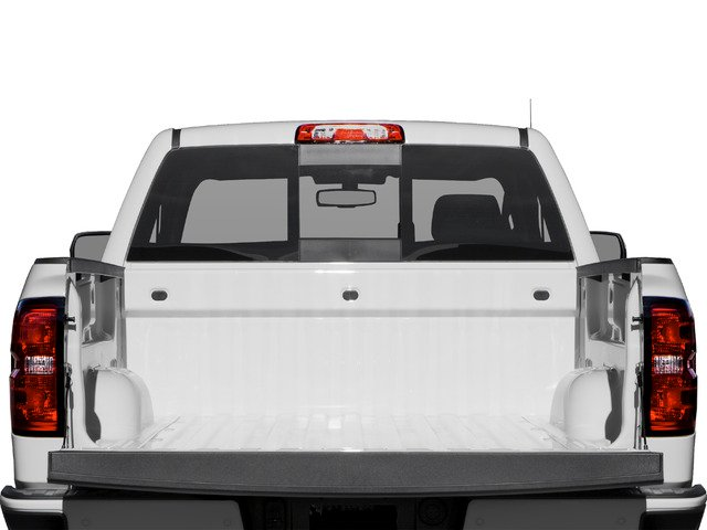 2016 Chevrolet Silverado 1500 Prices and Values Extended Cab LT 4WD open trunk