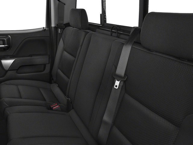 2016 Chevrolet Silverado 1500 Prices and Values Extended Cab LT 4WD backseat interior