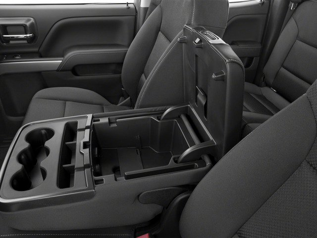 2016 Chevrolet Silverado 1500 Prices and Values Extended Cab LT 4WD center storage console