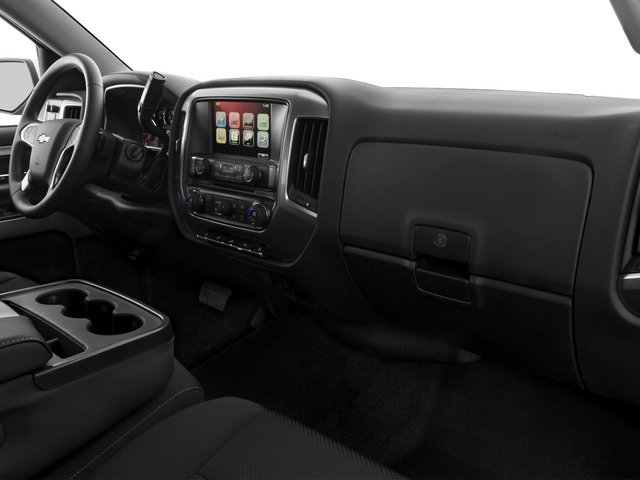 2016 Chevrolet Silverado 1500 Prices and Values Extended Cab LT 4WD passenger's dashboard