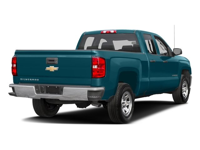 2016 Chevrolet Silverado 1500 Prices and Values Extended Cab LS 4WD side rear view