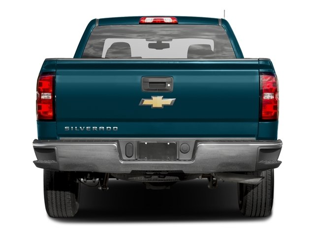 2016 Chevrolet Silverado 1500 Prices and Values Extended Cab LS 4WD rear view