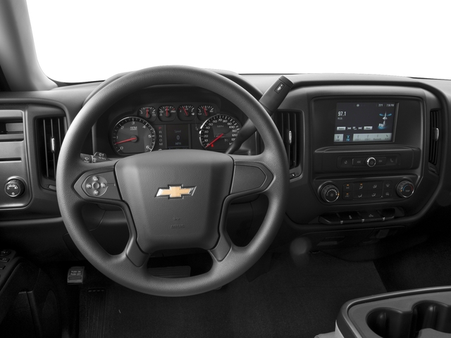 2016 Chevrolet Silverado 1500 Prices and Values Extended Cab LS 4WD driver's dashboard