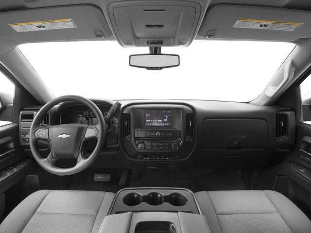 2016 Chevrolet Silverado 1500 Prices and Values Extended Cab LS 4WD full dashboard