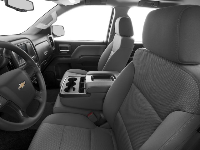2016 Chevrolet Silverado 1500 Prices and Values Extended Cab LS 4WD front seat interior
