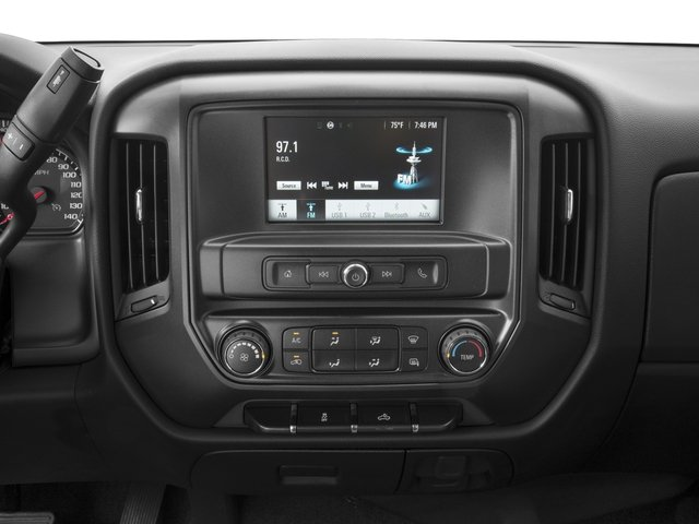2016 Chevrolet Silverado 1500 Prices and Values Extended Cab LS 4WD stereo system