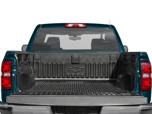 2016 Chevrolet Silverado 1500 Prices and Values Extended Cab LS 4WD open trunk