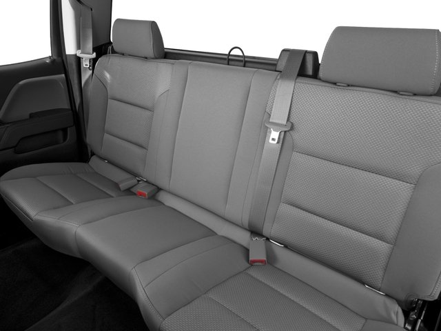 2016 Chevrolet Silverado 1500 Prices and Values Extended Cab LS 4WD backseat interior