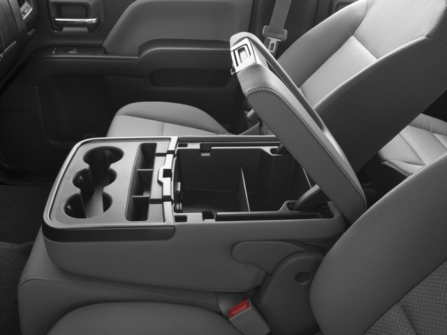 2016 Chevrolet Silverado 1500 Prices and Values Extended Cab LS 4WD center storage console