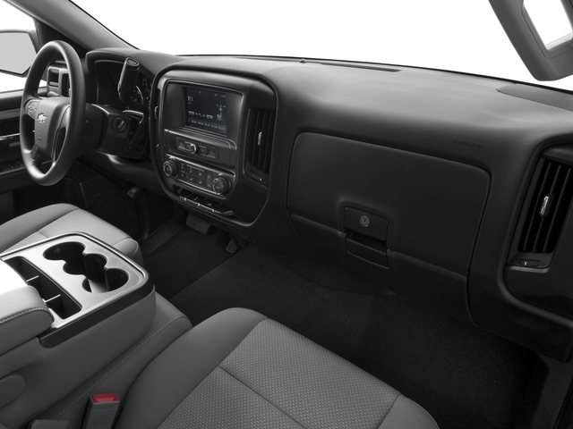 2016 Chevrolet Silverado 1500 Prices and Values Extended Cab LS 4WD passenger's dashboard