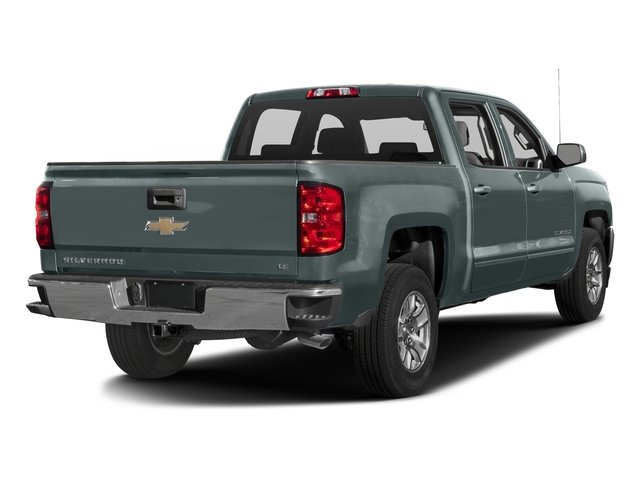2016 Chevrolet Silverado 1500 Pictures Silverado 1500 Crew Cab Custom 2WD photos side rear view