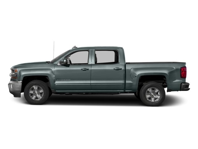 2016 Chevrolet Silverado 1500 Pictures Silverado 1500 Crew Cab Custom 2WD photos side view