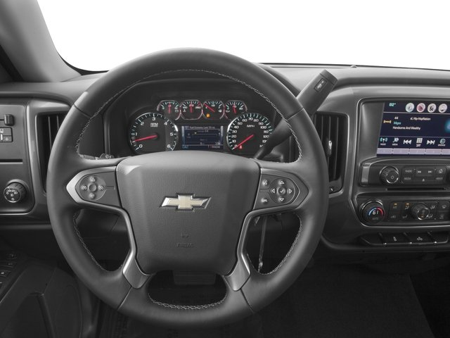 2016 Chevrolet Silverado 1500 Prices and Values Crew Cab LT eAssist 2WD Hybrid driver's dashboard