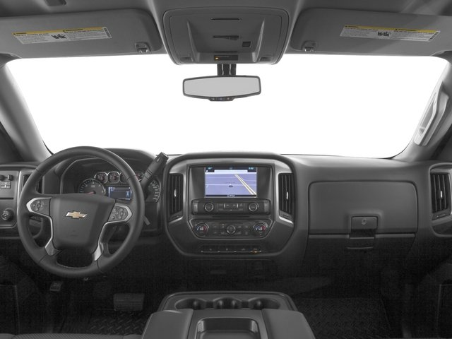 2016 Chevrolet Silverado 1500 Pictures Silverado 1500 Crew Cab Custom 2WD photos full dashboard