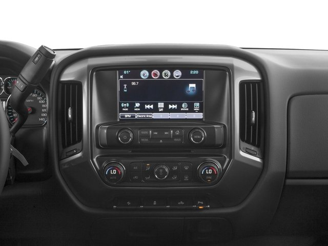 2016 Chevrolet Silverado 1500 Prices and Values Crew Cab LT eAssist 2WD Hybrid stereo system