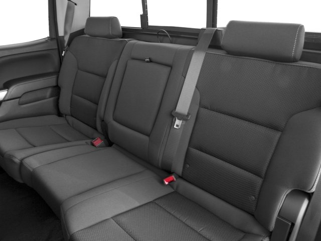 2016 Chevrolet Silverado 1500 Prices and Values Crew Cab LT eAssist 2WD Hybrid backseat interior
