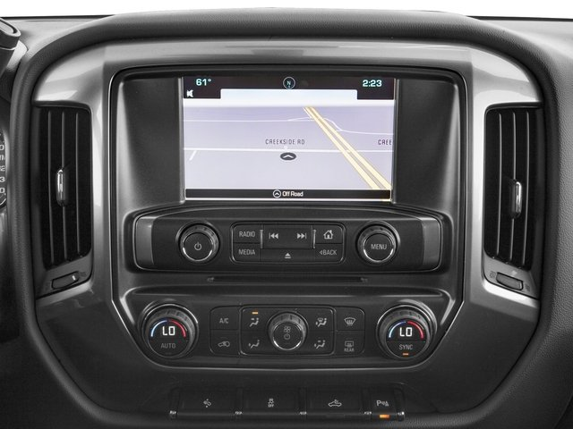 2016 Chevrolet Silverado 1500 Prices and Values Crew Cab LT eAssist 2WD Hybrid navigation system