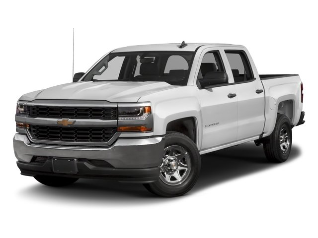 2016 Chevrolet Silverado 1500 Prices and Values Crew Cab LS SSV 4WD side front view