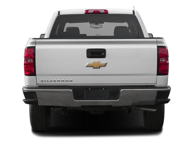 2016 Chevrolet Silverado 1500 Prices and Values Crew Cab LS SSV 4WD rear view