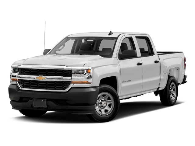 2016 Chevrolet Silverado 1500 Prices and Values Crew Cab Work Truck 4WD side front view